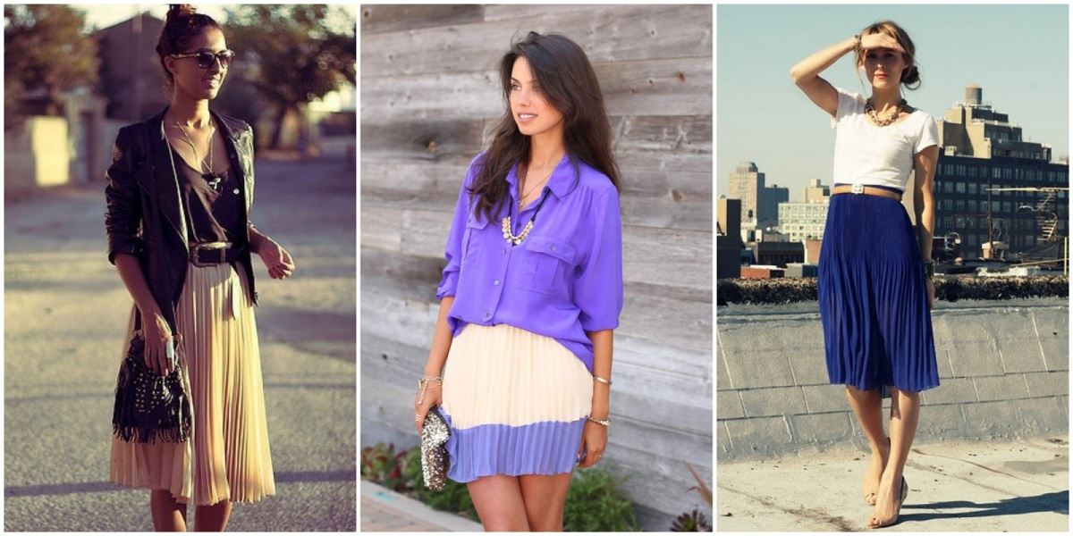 PLEATED SKIRTS – A MUSTHAVE