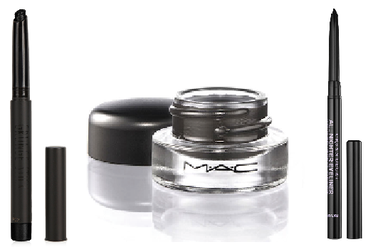 Top 3 products for the kohl look (Picture: supplied)