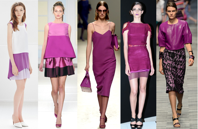 Teen-Girl-Fashion-Color-Trends-2014-Is-Radiant-Orchid-for-fasion-week