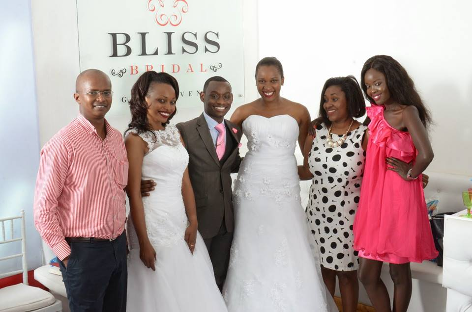 MY WEDDING GOWN FROM BLISS BRIDAL