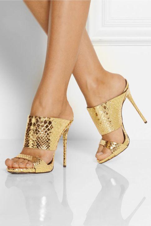 gold mules