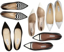 pointed shoe collection