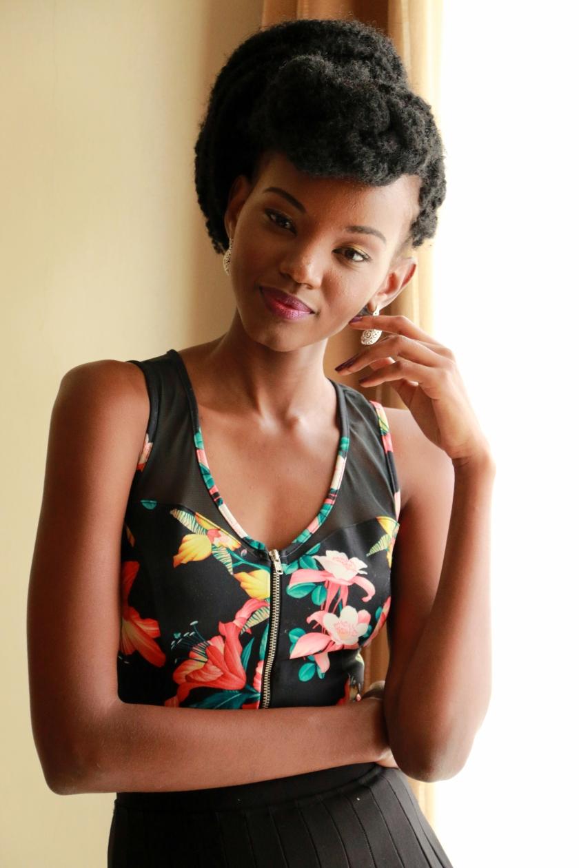Marley Braids, Kenyan Fashion Blogger Reina Kimeu (Fashion forensic Africa)
