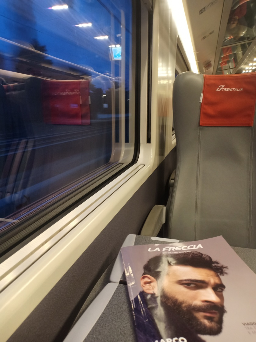 Train From Paris France - Bologna Italy